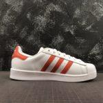 adidas Superstar White Orange