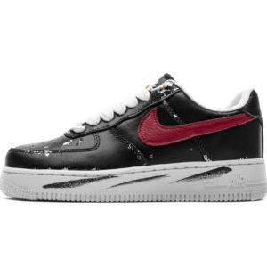 Nike Air Force 1 PEACEMINUSONE X Low Black Red