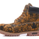 TIMBERLAND  Boots Yellow Zoo Print