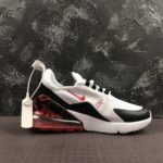 Nike Airmax 270 Fly nit White Black with roses