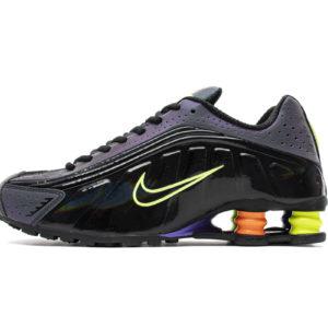 Nike Shox R4 Black Neon