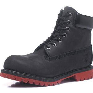 TIMBERLAND  Boots Black Red