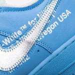 Nike Air force 1 Off-White X Low MCA University Blue