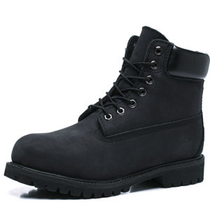 TIMBERLAND Boots Fur all-in-one Wool  Black