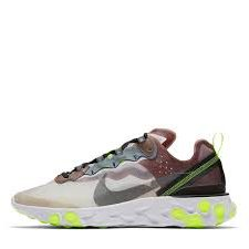 Nike React Element 87 Brown green