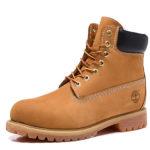 TIMBERLAND Boots Fur / Wool Yellow