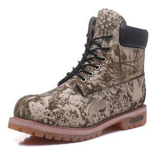 TIMBERLAND  Boots Khaki Print