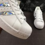 adidas Superstar Glitter White