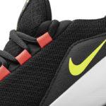 Nike Viale Black/Volt/Solar Red