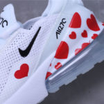 Nike Airmax 270 Fly nit Total White with love